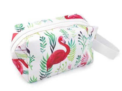 Kosmētikas soma Cosmetic Bag with Printing 12x19 cm