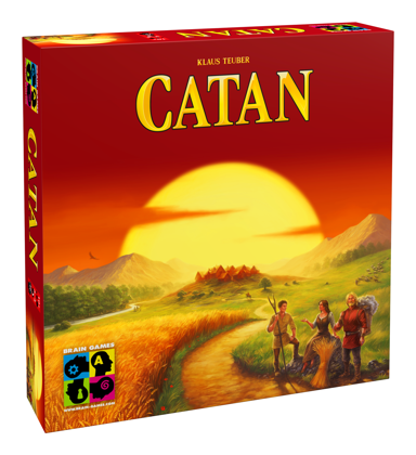 Brain Games Catan Baltic (Katana) pamatspēle