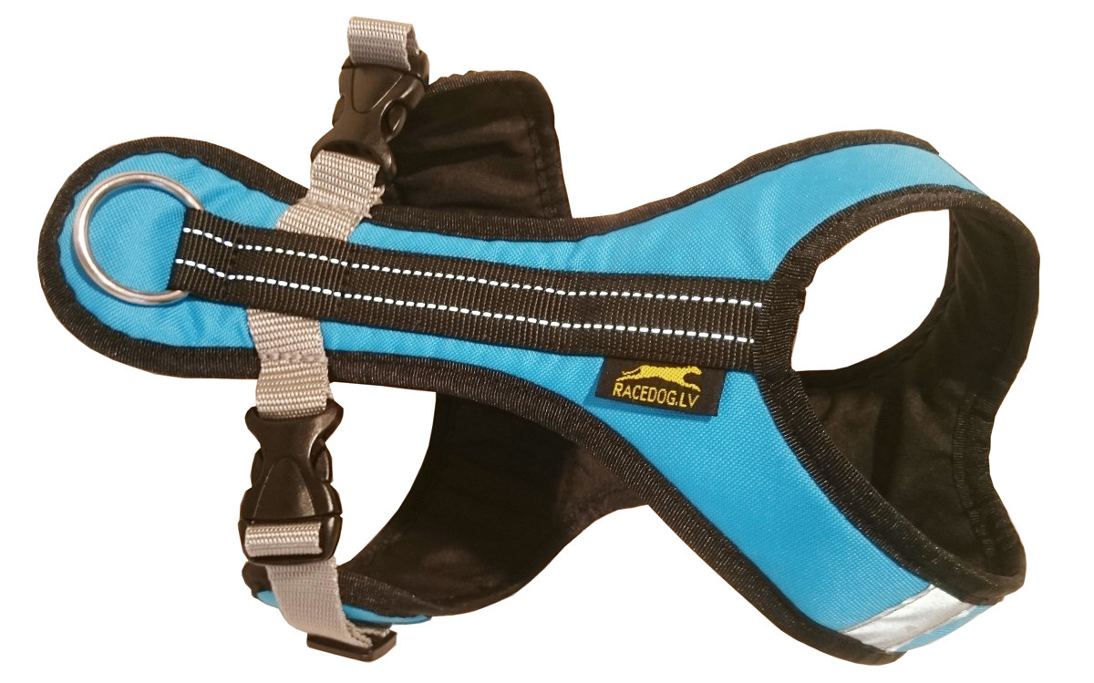 BE RACEDOG padded reflective dog harness HALF