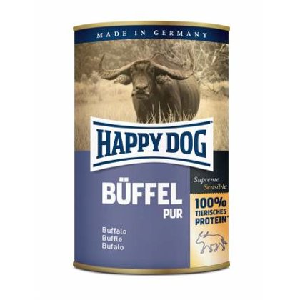 Happy Dog Buffel Pur (Vērša gaļa)