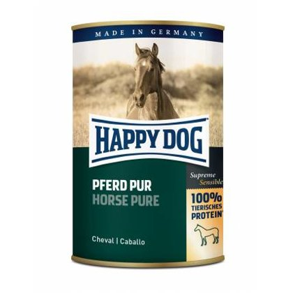 Happy Dog Horse Pur (100% zirga gaļa)