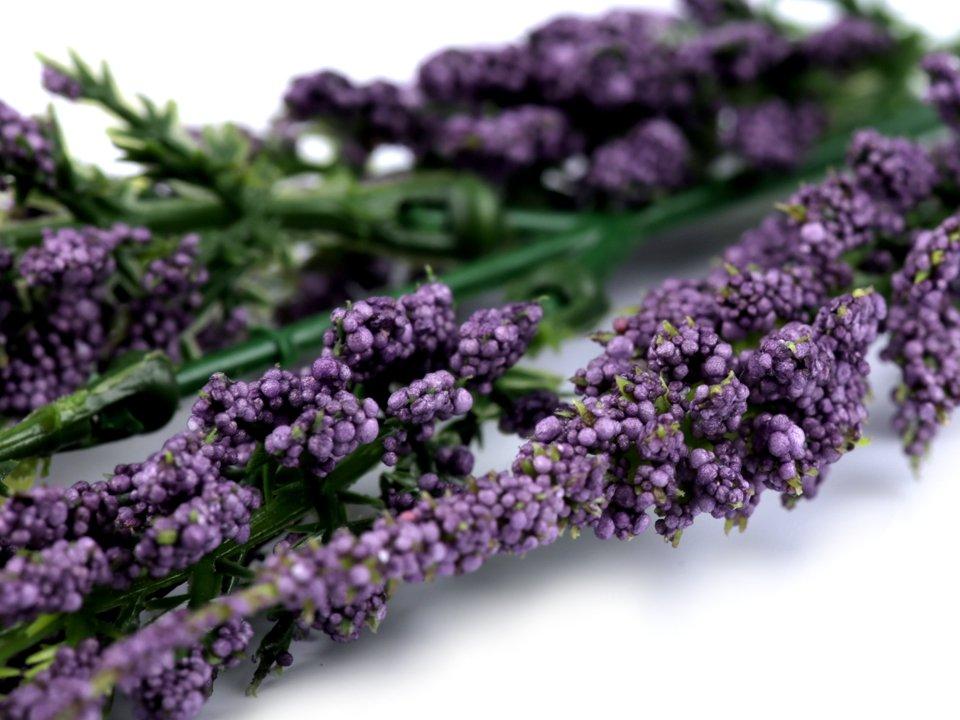 Dekoratīvās puķes Artificial Heather for Floral Arranging 17 cm