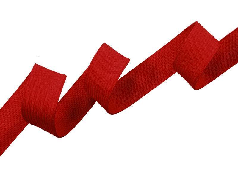 Elastīga sarkanā lenta 20 mm 25 m