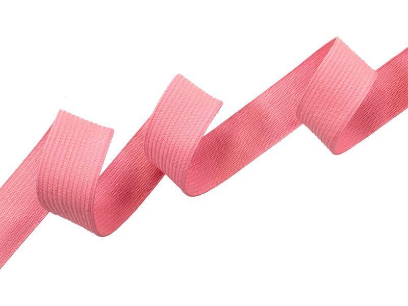 Elastīga rozā lenta 20 mm 25 m