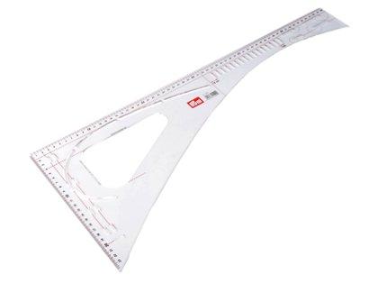 Drēbnieku lineāls Prym 60 cm x 23,9 cm