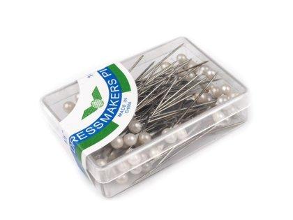 Kniepadatas, saspraudes Decorative Pearl Head Sewing Pins length 38 mm