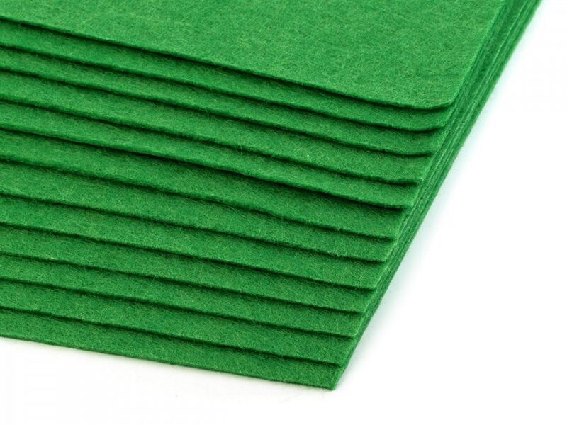 Craft Felt Sheets 20x30 cm 2 pcs green