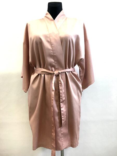 Cotton Satin bathrobe