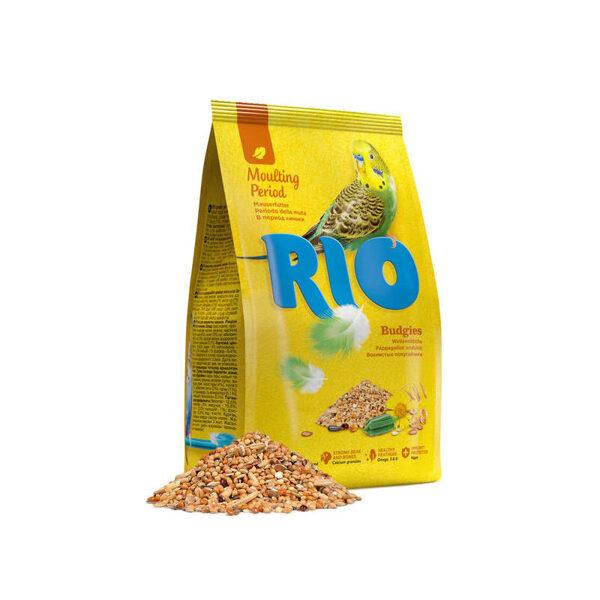 RIO food for budgies 1kg barība maziem papagaiļiem spalvas mešanas periodā