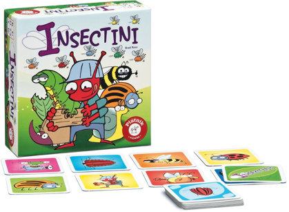 Galda un ceļojumu spēle Piatnik Insectini (uz vietas)