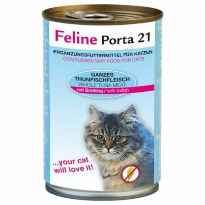 Feline Porta 21 ar tunci & ledus zivi