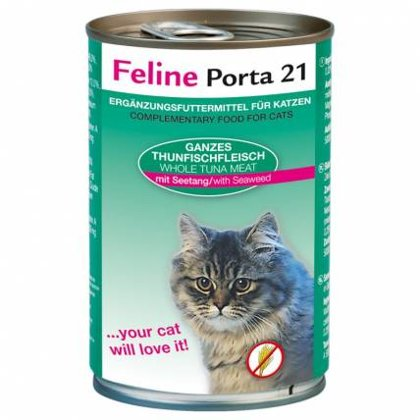 Feline Porta 21 ar tunci & jūras augiem