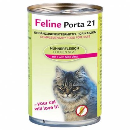 Feline Porta 21 ar vistas gaļu & alveju