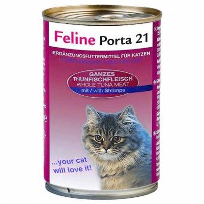 Feline Porta 21 ar tunci & garnelēm