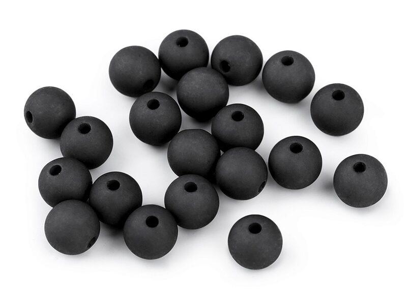 Matētas Acrylic pērlītes Ø10 mm 20 gab. (uz vietas)