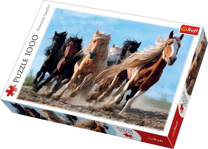 Puzzle zirgi 1000 (uz vietas)