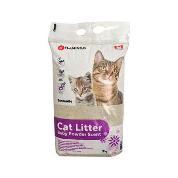 Karlie Flamingo Cat Litter Baby Powder 7kg