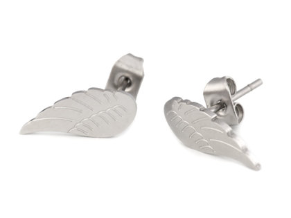 Auskari Stainless Steel Stud Earrings Wings
