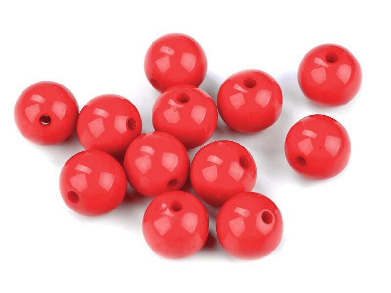 Plastmasas pogas Ø12 mm 25 gab. (uz vietas)