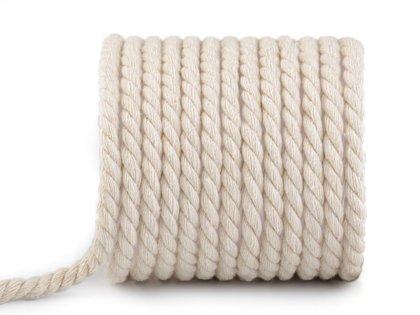 Kokvilnas virve / aukla Ø8 mm