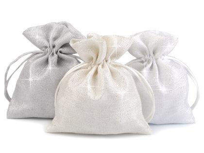 Auduma dāvanu maisiņš 10x13 cm