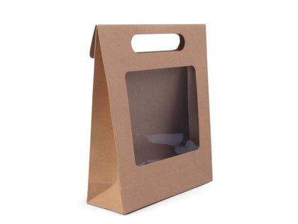Papīra maisiņš ar logu