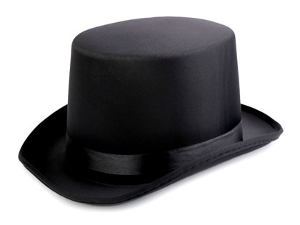 Cilindra cepure Carnival Top Hat DIY