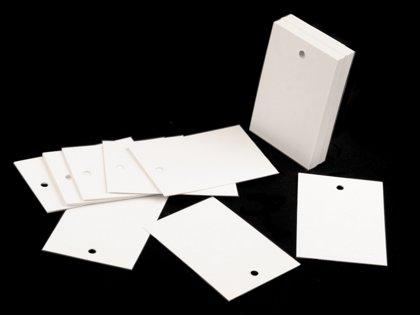 Papīra birkas / vārdu kartītes / Papīrs preču marķēšanai 40x60 mm