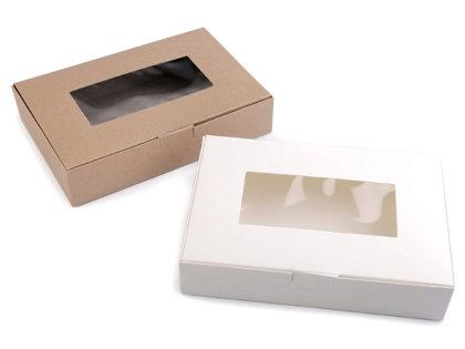 Papīra kastīte ar lodziņu