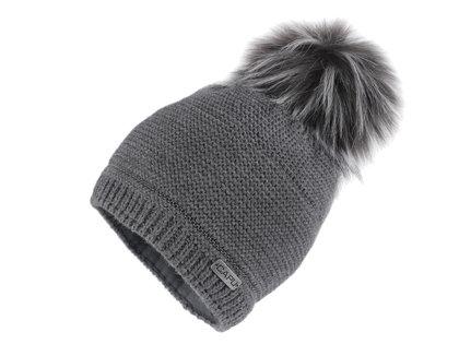 Sieviešu ziemas cepure Women Winter Hat with Pom Pom Capu
