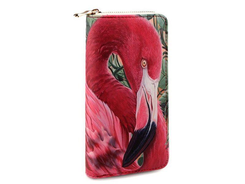 Sieviešu maks Flamingo 10x19 cm