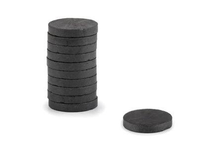 Magnēts slēpņošanai (geocaching) Ø18 mm komplekts