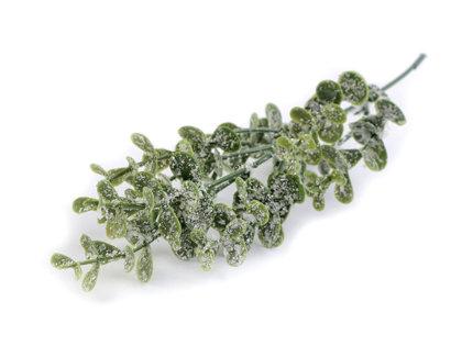 Dekoratīvās puķes Eikalipts Artificial Eucalyptus Leaf for Arranging frosted