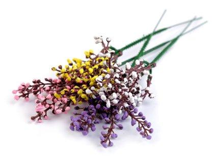 Dekoratīvās ogas Artificial Berries Twig