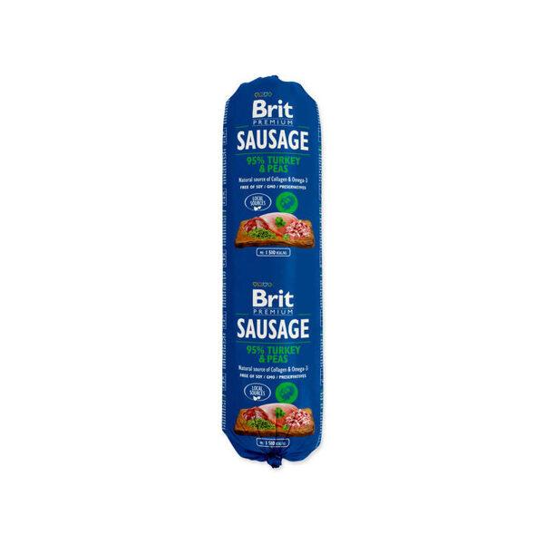 BRIT PREMIUM wet Turkey & Peas 800 g
