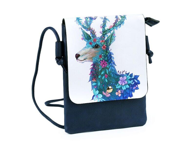 Eco ādas somiņa BRIEDIS 15.5x21 cm