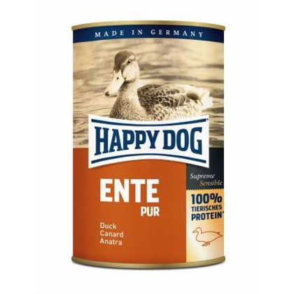 Happy Dog Ente Pur duck (100% pīles gaļa)
