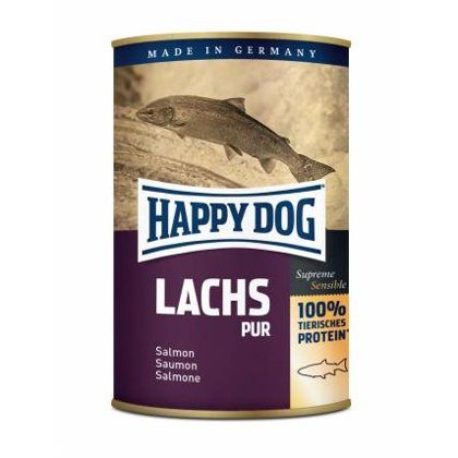 Happy Dog Lachs Pur 100% laša gaļa