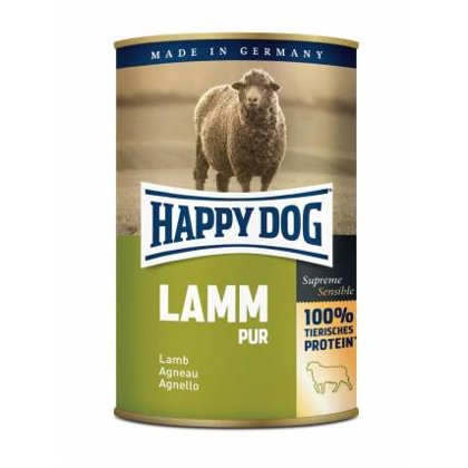 Happy Dog Lamm Pur 100% (jēra gaļa)