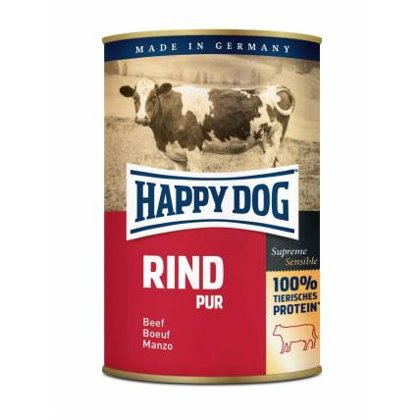 Happy Dog Rind Pur Beef (lielopu gaļa)