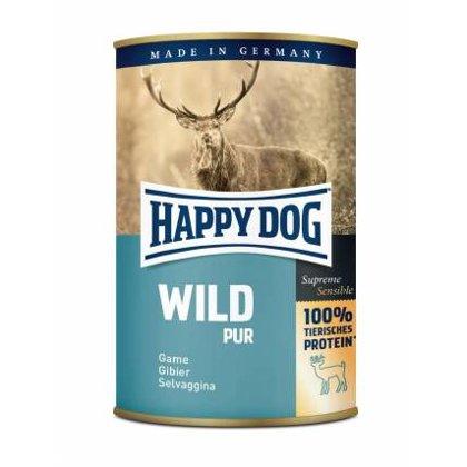 Happy Dog Wild Pur Gibler 100% (Medījumu gaļa)