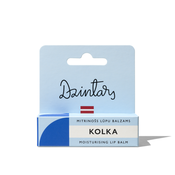 "Dzintars moisturising lip balm ""Kolka"""