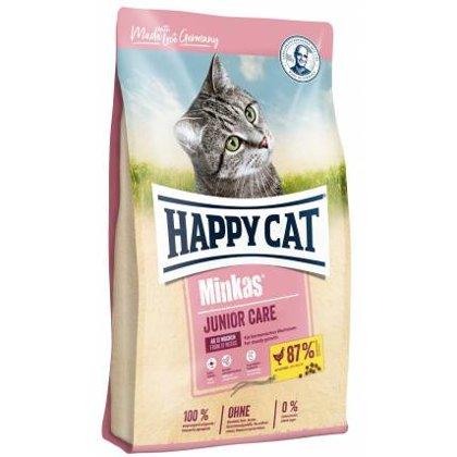Happy Cat kaķu sausā barība Minkas Junior Care