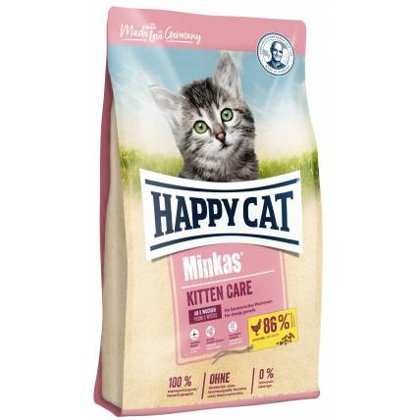 Happy Cat sausā kaķu barība Minkas Kitten Care