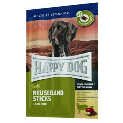 Kārums suņiem - Happy Dog Tasty Neuseeland Sticks 30 g