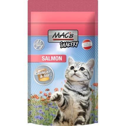 Kaķu kārumi MAC's Shakery Salmon 60g