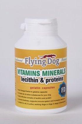 "Flying Dog ""Vitamīnu un Minerālu komplekss kapsulās"""