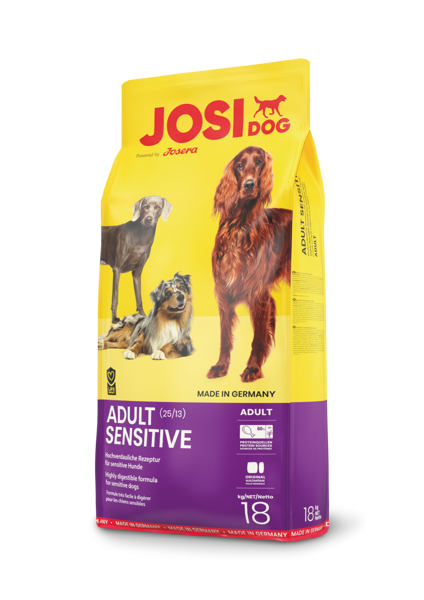 Josera Premium Josidog Adult Sensitive 18kg dog dry food