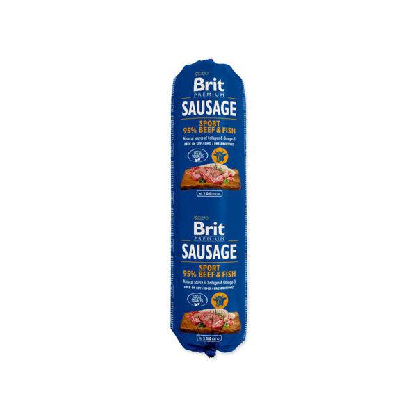 BRIT PREMIUM wet Beef & Fish-Sport 800 g