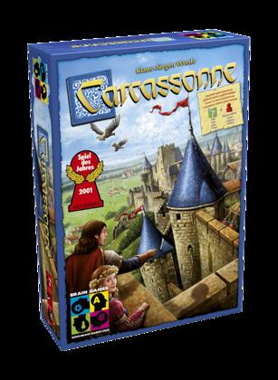 """Galda spēle """"Carcassonne"""" (Karkasone)"""